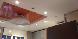 Falso techo de PLADUR en cocina